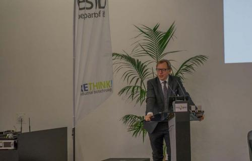 Slika 3. Gospodin Ch. Buchmann, član Vlade austrijske pokrajine Štajerske.