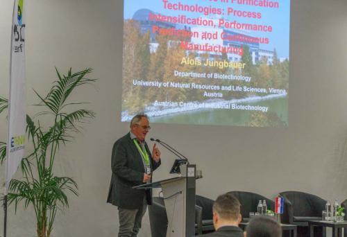 Slika 13. Prof. dr. sc. A. Jungbauer, Zavod za biotehnologiju, Sveučilište u Beču.
