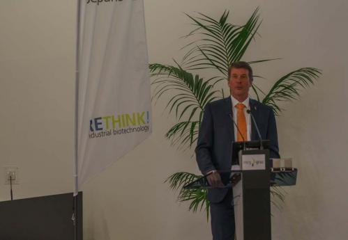 Slika 5. Prof. dr. sc. H. Bischof, prorektor Tehničkog sveučilišta u Grazu.
