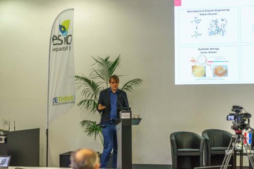 Slika 7. Prof. dr. sc. R. Kourist, voditelj Instituta za molekularnu biotehnologiju, Tehničkosveučilište u Grazu.